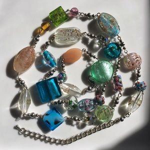 Premier Designs Venetian Aventurine Bead Necklace